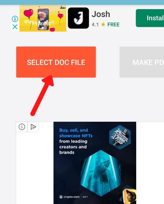 मोबाइल में पीडीएफ फाइल कैसे बनाये