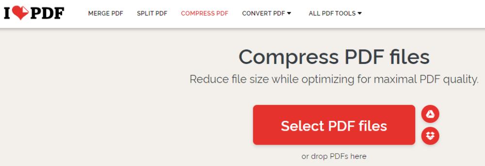 pdf file को compress कैसे करे