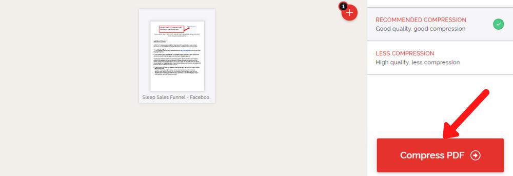 PDF ka size kaise badhaye